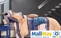 Сатин двухспальный Комплект постельного белья Dome сатин пигмент 2(50*70) SDP 1857 C017