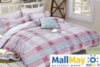 Сатин полутороспальный Комплект постельного белья Dome сатин пигмент 2(70*70) SDP 1577 C060