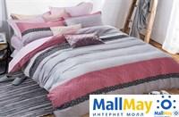 Сатин полутороспальный Комплект постельного белья Dome сатин пигмент 2(70*70) SDP 1577 C061