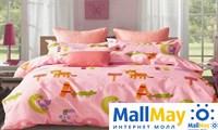 Сатин полутороспальный Комплект постельного белья Dome сатин пигмент 2(70*70) SDP 1577 C048