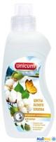 UNICUM 750мл Кондиционер-ополаскиватель для белья Цветы белого хлопка  (лимитированная отдушка)