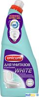 UNICUM 750мл гель для чистки унитазов с Гипохлоритом