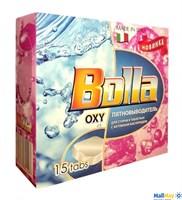 BOLLA Oxy 15шт*20г в таблетках с активным кислородом для цветного и белого белья