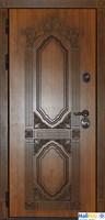 Входная металлическая дверь Сударь Париж (Голден Оак Винорит)