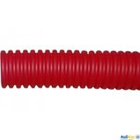 РУВИНИЛ Труба гофр.32мм ПНД (красная) для МПТ (Длина: 25 м)